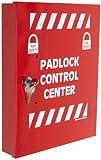 Brady Padlock Control Center, Small, 10'' Height, 12'' Width, 2'' Depth