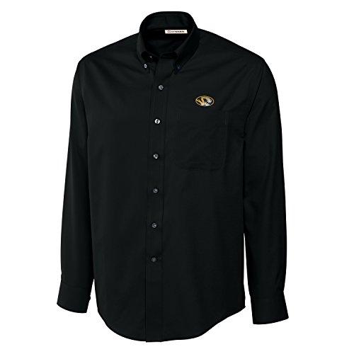 - Cutter & Buck NCAA Missouri Tigers Men's Long Sleeve Epic Easy Care Fine Twill Shirt, 3X-Large, Black
