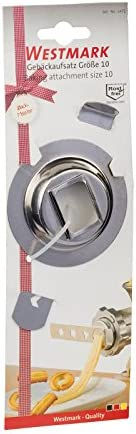 Westmark Baking Attachment Size 10, Stainless Steel, Silver, 5 x 5 x 1 cm