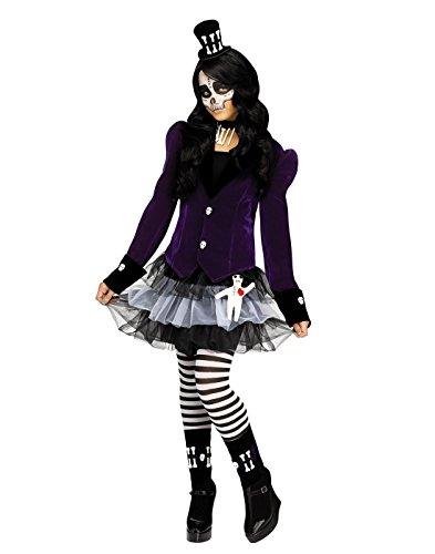 Child Voodoo Doll Costumes (Fun World Girl's Voodoo Dolly Costume (8-10))