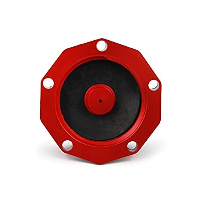 JFG RACING Billet Gas Fuel Tank Cap Cover For For Honda CR85R 03-07 CR125R 00-07 CR250R 00-07 CRF230F 04-15 Red: Automotive