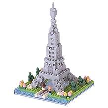 Kawada Nanoblock, NBH-097, Paris, Banks of The Seine Micro Block Sights to See Puzzle