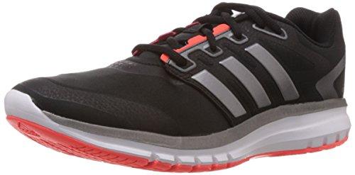 adidas B44471, Chaussures de Course pour Homme - Noir Schwarz/Silberfarben