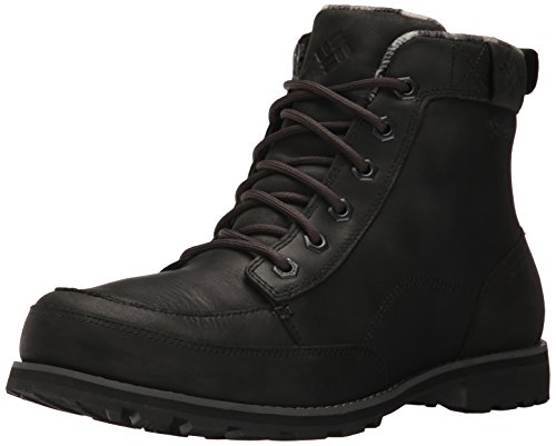 Columbia Men's Chinook Boot Waterproof Uniform Dress Shoe, Black, Black, 12 D US (Uniform Waterproof)