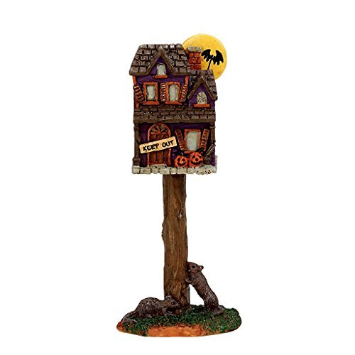 Lemax Spooky Town Collection Full Moon Birdhouse