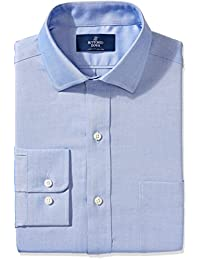 Buttoned Down Men's Non-Iron Classic Fit Pinpoint Spread...
