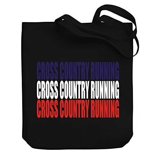 TRIPLE Country Canvas Teeburon Teeburon Running Cross Tote TRIPLE Cross Country Bag Running wSRqHt6xan