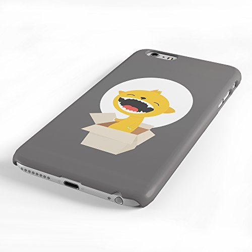 Koveru Back Cover Case for Apple iPhone 6 Plus - Sleeping owl on a full moon day