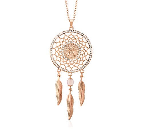 Boltz Mini Dream Catcher Car Rear View Mirror Hanging Accessories, Zodiac Sign Car Charm Boho Dangling Feather Tassel Bead Pendant 12 Constellation Decor for Women (Pisces) by Boltz
