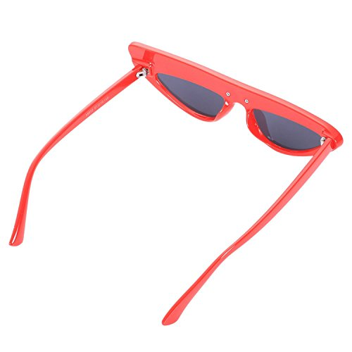 Gafas Mujeres Cat Eye amp; Travel lujo de Sun Sexy Rojo Negro Shades Frame Negro TOOGOO Sunglasses Gafas 0AxdBq0