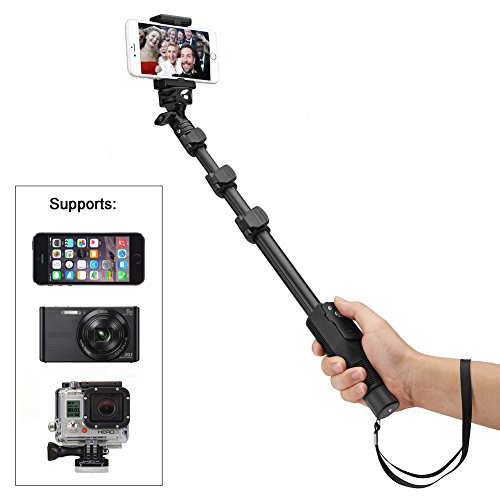 Accmor-50-Inch-Extendable-Handheld-Monopod-with-Bluetooth-Remote-Shutter-Button-on-Stick-for-iOS-Android-Devices-Camera-POV-Camera