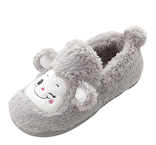 Cattior Dames Leuke Warme Slippers Pantoffels Grijze Pantoffels