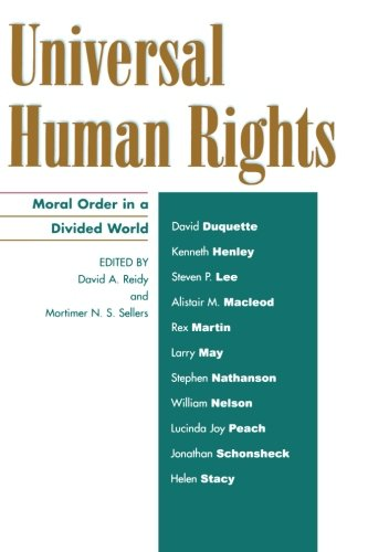 Universal Human Rights: Moral Order in a Divided World (Philosophy and the Global Context)