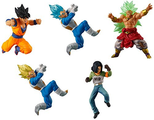 (Gashapon Dragon Ball Super Vs Dragon Ball 05 Set)