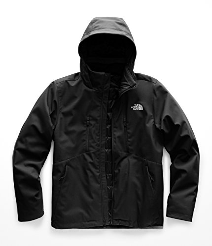 Aconcagua Down Jacket - The North Face Men's Apex Elevation Jacket - TNF Black & TNF Black - XL