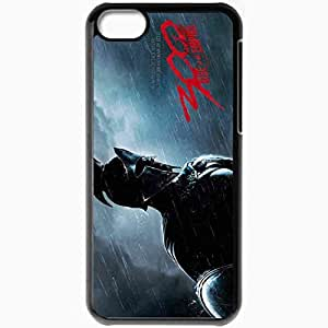 Personalized iPhone 5C Cell phone Case/Cover Skin 300 Rise Of An Empire 2014 Movie Black