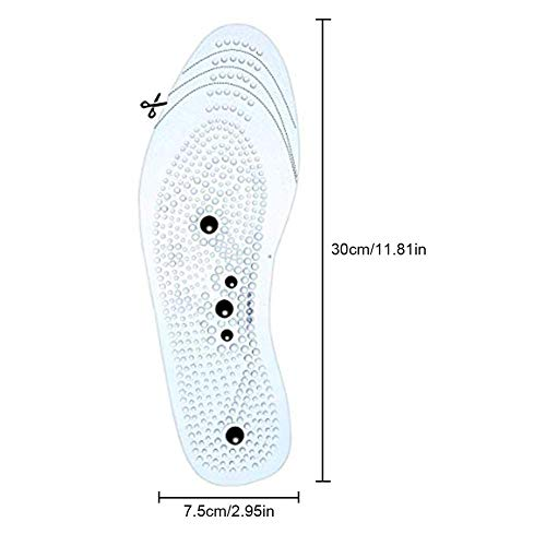 Magnetic Insole Breathable Health Pads Relieve Feet Pain For Men Women Magnetic Foot Shoe Insoles Gel Shoe by Oshide (Image #1)