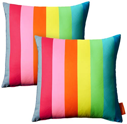 Modway 2 Piece Modway Outdoor Patio Pillow Set, Rainbow