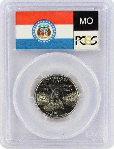 2003 Missouri State S Clad Proof Quarter PR-69 PCGS