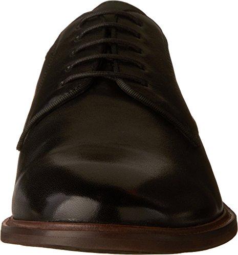 Steve Madden Mens Biltmore Oxford Svart Läder
