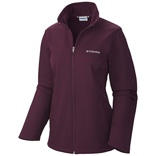 Columbia Women's Plus-Size Kruser Ridge Softshell, Purple Dahlia, 1X