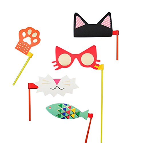 Tinksky Party Photo Booth Props Paper Mask Masquerade Dancing Party Decoration ()