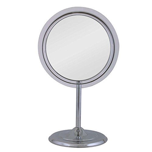 Zadro 7X Magnification Surround Lighted Adjustable Vanity Mirror, Chrome by Zadro