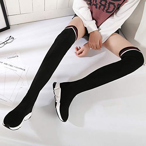 Stretch Stretch E 1 Sport Maglia Stivaletti Con Calze Calze Calze Autunno Inverno Pendio Gli A Femminile w5ap1qx0
