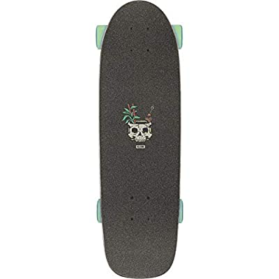 """Globe Outsider Complete Skateboard, Fire Island by Night 27, 8.25"""" L X 27.125"""" W - 14.5"""" WB : Sports & Outdoors"""