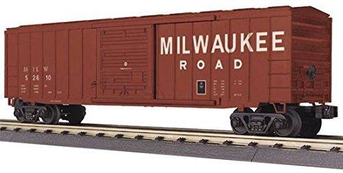 MTH RAILKING O GAUGE 50' MODERN BOX CAR-MILWAUKEE ROAD ()