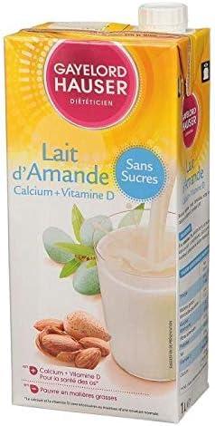 Gayelord Hauser leche de almendra – Ajouté sin azúcar – 1 l ...