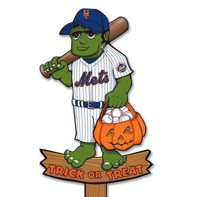 New York Mets Halloween Yard Stake (Halloween Stores New York)