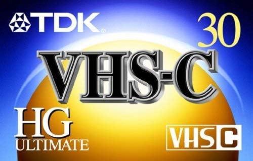 TDK VHS-C HG ULTIMATE TC-30 PACK OF 5