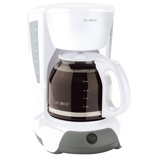 Mr. Coffee VB12  12-Cup Switch Coffeemaker, White