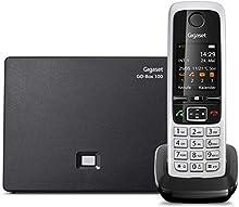 Gigaset C430A GO - Teléfono (Teléfono DECT, 200 entradas, Servicios de Mensajes Cortos (SMS), Negro)