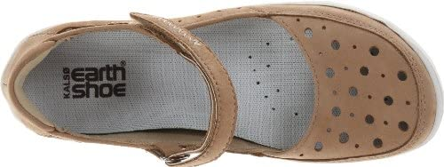 b815de3f2cd14 Kalso Earth Women's Precise Mary Jane Flat,Biscuit,5 M US: Amazon ...