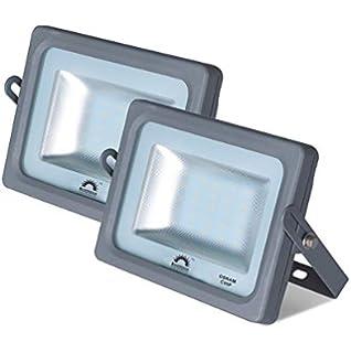 Foco LED Exterior MERCURY Gris · Proyector LED Extraplano ...