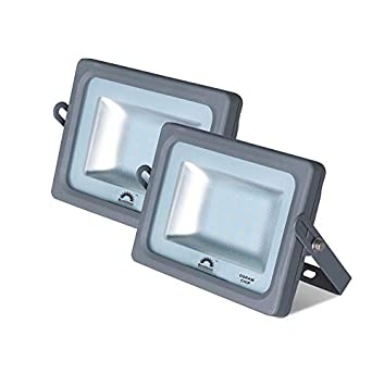 Pack de 2 Focos LED Exterior MERCURY Gris · Proyector LED ...