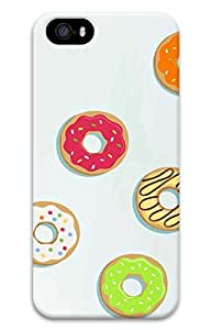 Lovely Delicious Donuts Hard Case Cover iPhone 5S 5 by mcsharks