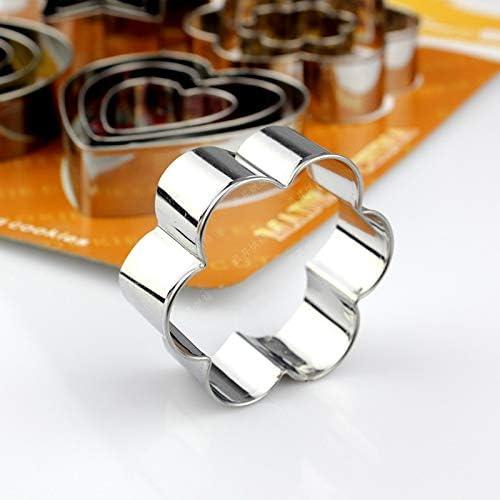 Lumanuby 3 Pcs Moule de g/âteau Forme de la feuille Silicone Ustensiles /à P/âtisserie Moules Emporte-pi/èces en Moule Ustensiles Pancake Anneaux