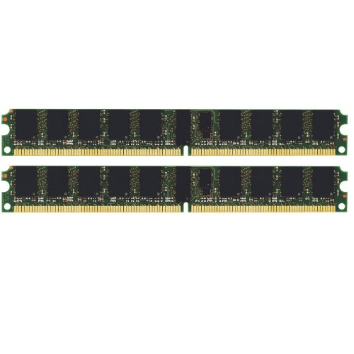 (Not for PC!) 4GB (2x2GB) FOR Dell PowerEdge 2850 Server Memory PC2-3200 ECC REG (MAJOR BRANDS)