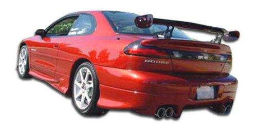 Duraflex Replacement for 1997-2000 Dodge Avenger Viper Rear Lip Under Spoiler Air Dam - 1 Piece