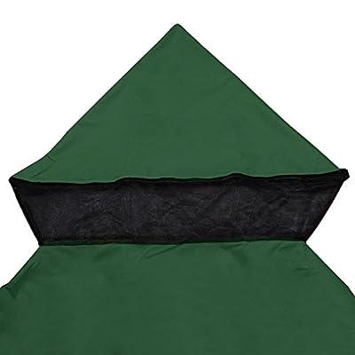 LeeMas Inc co 10'x10' Green Gazebo Canopy Replacement Top for Stadium Garden Courtyard Beach Camping Wedding Outdoor Party Event: Garden & Outdoor