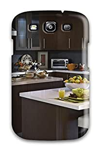 Larry B. Hornback's Shop Awesome Kitchen With A Breakfast Bar Flip Case With Fashion Design For Galaxy S3