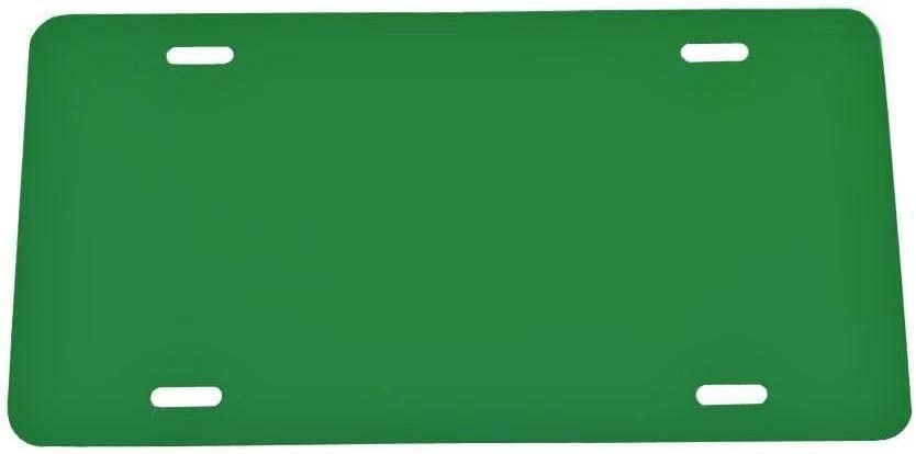 .020 Plastic License Plate Blank Vinyl Blank Laser Cut and Made in USA 5 Pack-$4.99//Each