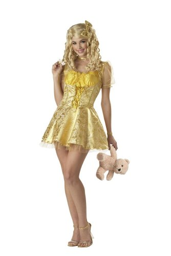 Sexy Goldilocks Costumes (Deluxe Sexy Goldilocks Costume - Womens XL (12-14))