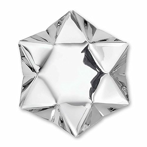 Silver Philippi Star Bowl 35/x 35/x 7/cm Stainless Steel