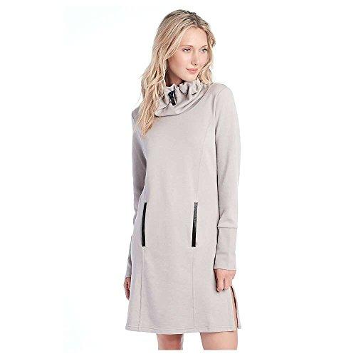 LOLE Gray Dress, Warm Grey Heather, Small