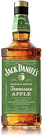 Jack daniel's tennessee apple presenta el carácter único de jack daniel's tennessee whiskey, el sabo