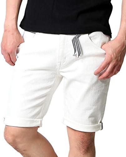 REALCONTENTS ハーフ ショート パンツ メンズ 白 ホワイト デニム ズボン ボトムス rcsb55-h688